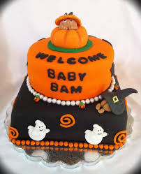 halloween baby shower cakecentral com