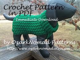 immediate download pdf crochet pattern for the green st paddy u0027s