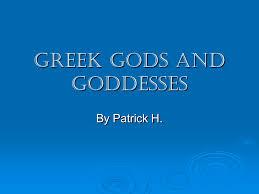 powerpoint presentation greek gods and goddesses