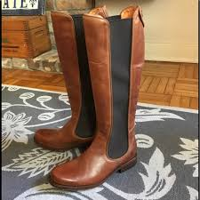 s frye boots sale 77 frye shoes frye chelsea boots cognac brown size 7