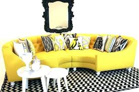 butter yellow leather sofa bright yellow color fabric sofa set in living room yellow sofa set
