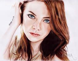 realistic colored pencil portraits celebrity and girls sketches