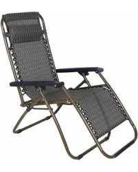 deal alert zero gravity recliner lounge patio chairs brown