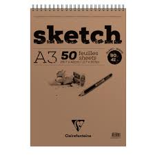 sketch pads fine arts clairefontaine paper notebooks and