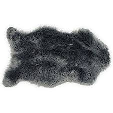 amazon com leevan faux fur rug supersoft fluffy chair cover