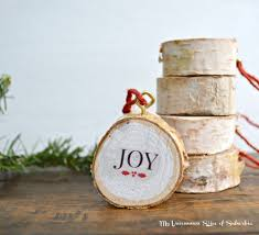diy birch wood ornament wood ornaments birch and ornament