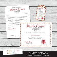 santa letter kit letter from santa nice list certificate