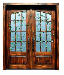 Wood Patio Door Furniture Wooden Exterior Doors Dazzling Wood Patio 49