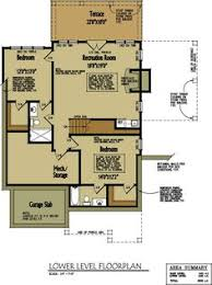Open Floor Plans For Small Homes Small Cabin Home Plan With Open Living Floor Plan Rock Cabin