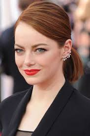short hair longer on top and over ears short red hair ponytail short hairstyles 2018 pinterest