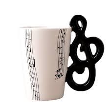 online shop 2017 new arrival coffee mug ceramic mugs music score