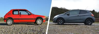 old peugeot cars for sale peugeot 205 gti 1 9 vs 208 gti u2013 old vs new carwow