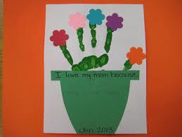 handprint flowerpot craft scholastic