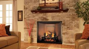 living room brick fireplace decor beautiful unique living room