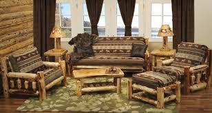Rustic Living Room Furniture Set Pine Living Room Furniture Sets Khosrowhassanzadeh