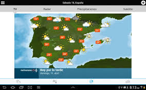 Espana Map Weather For Spain Android Apps On Google Play