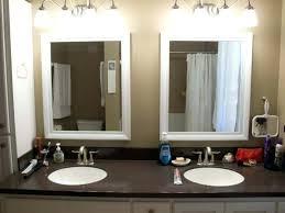 wall mirrors with lights bathroom bathroom wall mirror with