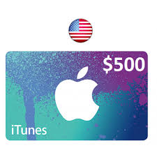500 gift card 500 itunes gift card u s account instant email delivery