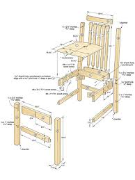 Simple Wooden Bench Design Plans by Chair Plans Woodworking How To Make Chairs Free Chair Plans With