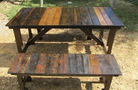folding picnic table plans 2 in 1 seat and picnic table made by