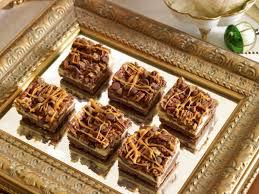 eggnog cheesecake streusel bars from julia usher christmas