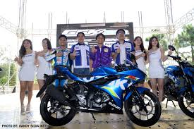 suzuki motorcycle suzuki philippines in full force during motorsiklo xklusibo u0027s 8th
