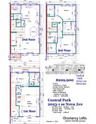 Park Central Floor Plan Taylor Homes Group Gramercy Leases