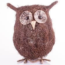 coco owl garden ornaments trading company