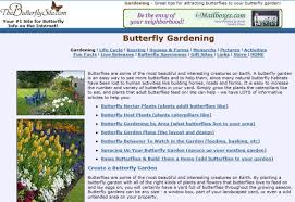 8 educational websites to plan a butterfly garden with your students