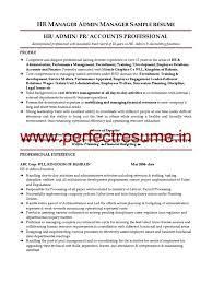 hr manager sample resume hr recruiter job resume hr manager