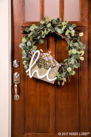Grapevine Floral Design Home Decor The Embellish A Grapevine Wreath With Eucalyptus Picks And Inviting
