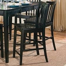contemporary counter height table amazon com coaster contemporary counter height stools black wooden