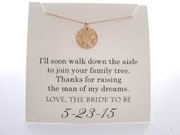 Wedding Gift Necklace Mother Of The Groom Necklace Mother Of The Groom Gifts