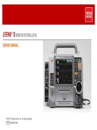 physiocontrol lifepak 15 defibrillator service manual