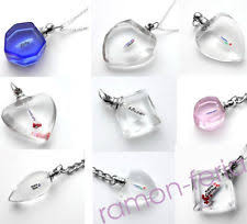 Rice Name Necklace Rice Vials Glass Ebay