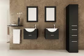 Bathroom Vanity Floating Combination Of Modern And Vintage Style In Floating Bathroom