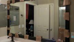 bathroom mirror trim ideas bathroom mirrors mirror trim ideas wonderful framed diy frame