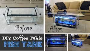 fish tank coffee table diy best buttercream piping recipes to try coffee table aquarium diy