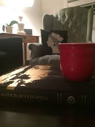 rituals when grace comes in the form of a red coffee mug ashley