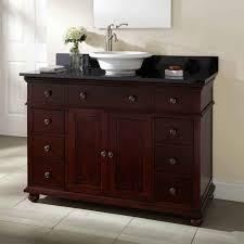Furniture Style Vanity Bathrooms Design Bathroom Interesting Wooden Vanity Cabinets