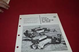 international harvester 420 430 440 baler dealers brochure dcpa2