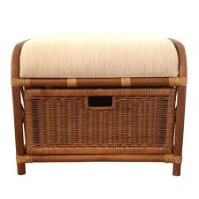 Wicker Trunk Coffee Table Wicker Storage Ottoman Wicker Coffee Table Ottoman Coffee Table
