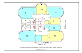 carleton floor plans 37 39 carlton street housing boston university