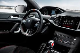 peugeot car interior 308 gti by peugeot sport the car for thrill seekers has its world