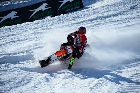 snow motocross bike snow bike ambassador austen madison amsoil championship snocross