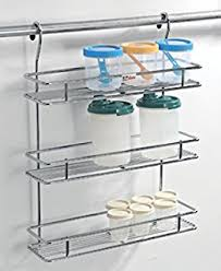 buy lifetime kitchen rack organiser with removable strong plastic