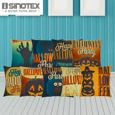 happy halloween cover photo halloween pillow covers pillow decoration