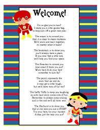 goodie bags poem by mauldin teachers pay teachers