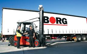 linde electric forklifts puts a shine on borg