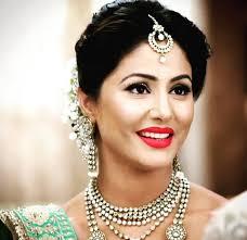 akshara wedding hairstyle 5 hina khan as akshra outfit that you will never forget saaskiar